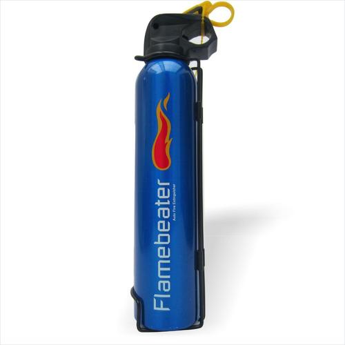 extintor de lujo para carro color azul
