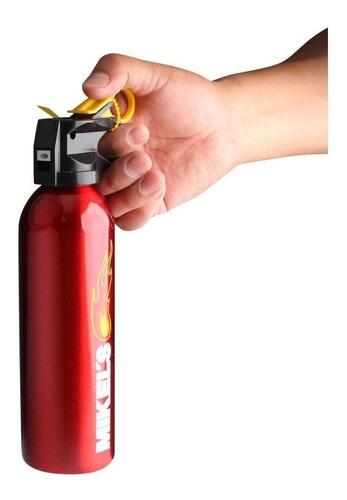 extintor emergencia racing 300gr auto + soporte mikels