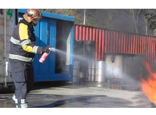 extintor extinguidor de fuego spray hogar casa portátil