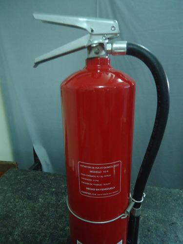 extintor fuego map polvo quimico seco abc 10 lbs modelo 10-a