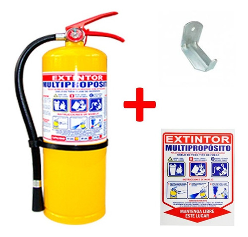extintor multipropositos polvo químico seco 20 libras