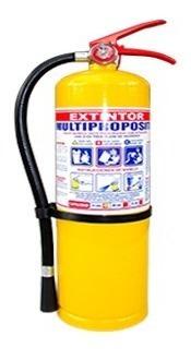 extintor polvo químico abc 20lb multiproposito soporte+señal