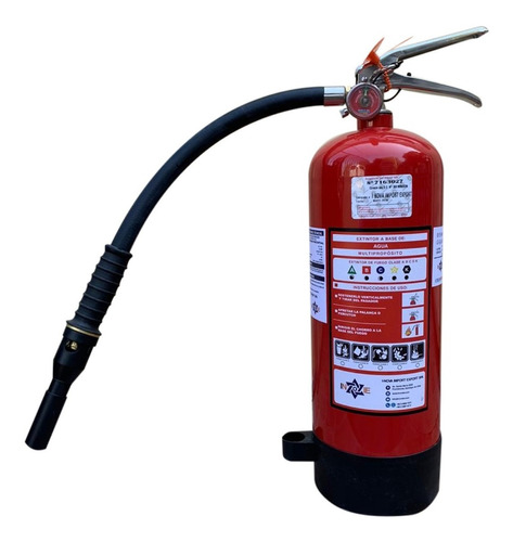 extintor profesional cold fire 4 litros color rojo