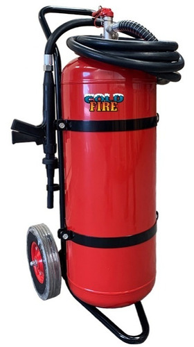 extintor profesional cold fire 50 litros color rojo