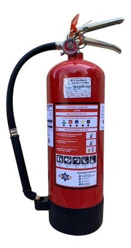 extintor profesional cold fire 9 litros color rojo