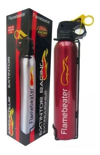extintor tuning deportivo flamebeater racing para autos