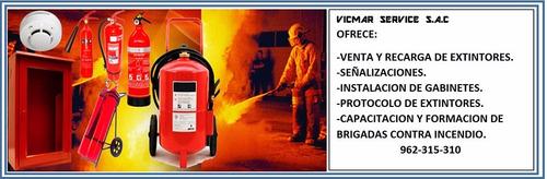 extintor vicmar service, venta y recarga de extintores