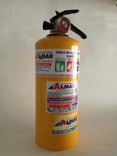 extintores multiproposito abc de 5 libras