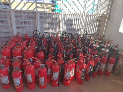 extintores recarga nuevos centralita de gas quito sangolqui