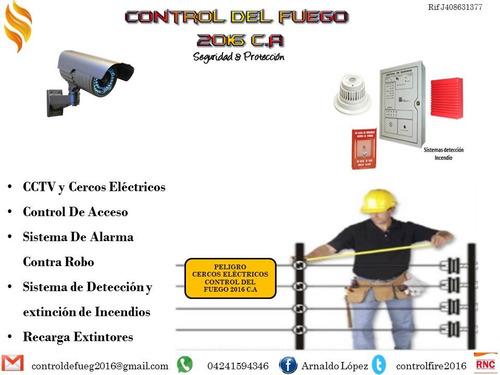 extintores(venta y recarga) sistemas contra incendios