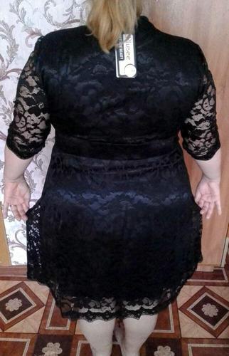extra linda, vestido talles grandes