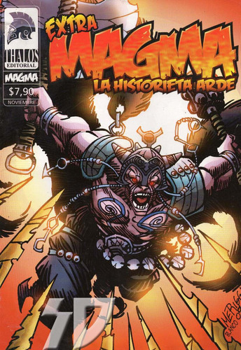 extra magma / la historieta arde / editorial thalos