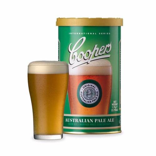 extracto coopers para hacer cerveza