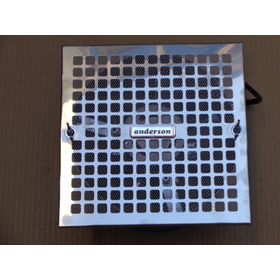 Extractor / Ventilador De 20cm Acero Inoxidable-envio Gratis
