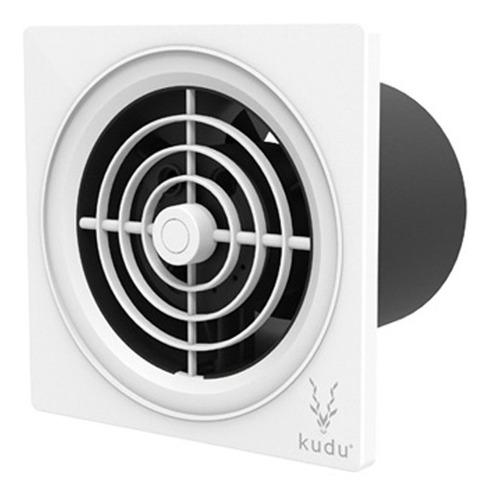 extractor aire baño blanco (150mm/6 pul) kudu
