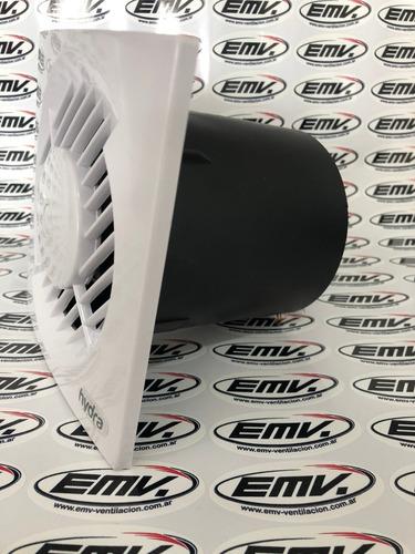 extractor aire baño hydra ø 4 pulg 100 mm potenciado 17 w