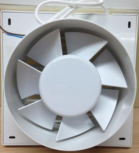 extractor aire fp 20x20cm salida tubo 6 pulgadas baños
