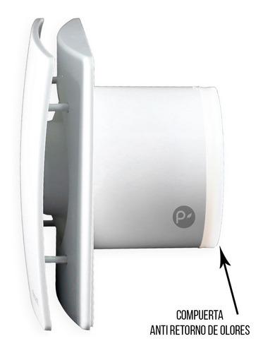 extractor anti retorno olores alta calidad lujo 16 cm