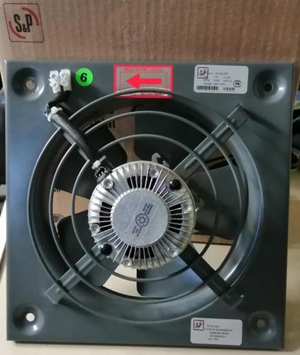 extractor axial aspas de metal mod. hmx 200