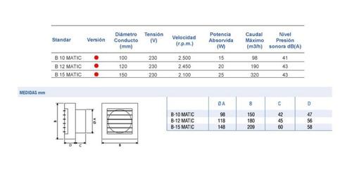 extractor cata b 12 matic blanco -  envío gratis 6 cuotas