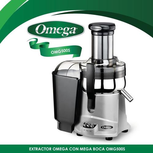 extractor centrifugado boca grande omega omg500s