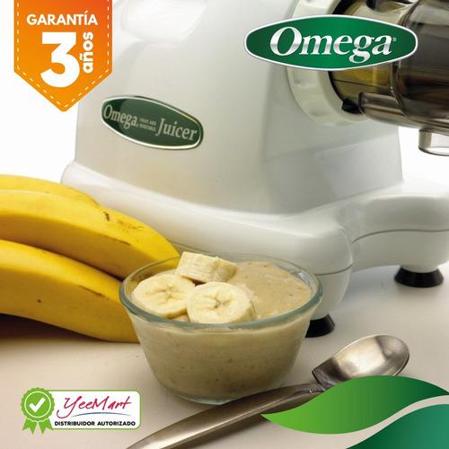 extractor centro nutrición de jugo prensa fría omega j8004