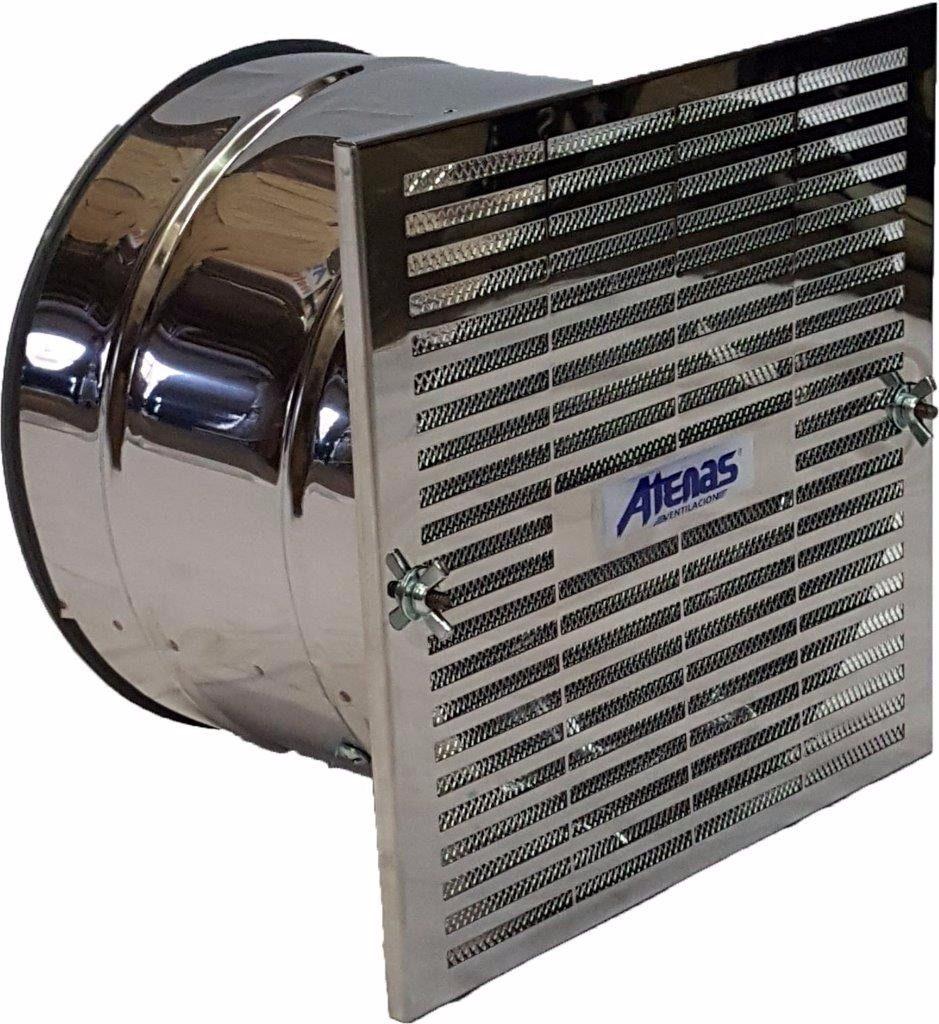 Extractor Cocina Atenas 20cm Acero Inox 2 Anos De Garantia