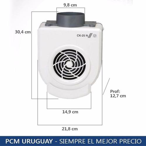 extractor cocina turbina soler y palau ck25n gtia 5 años pcm