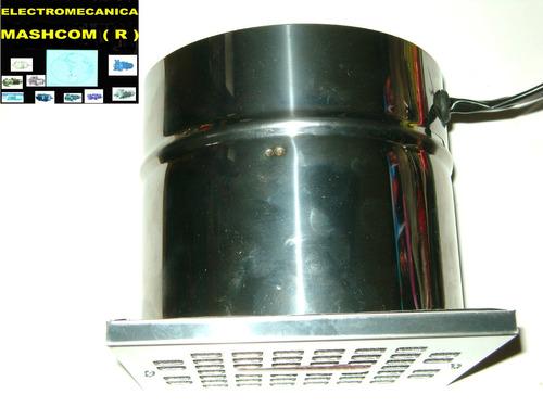 extractor  de 15 cm  de acero inoxidable-envio gratis
