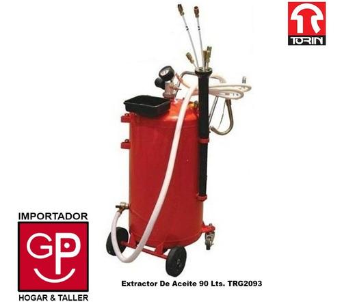extractor de aceite 90 lts. trg2093 marca torin