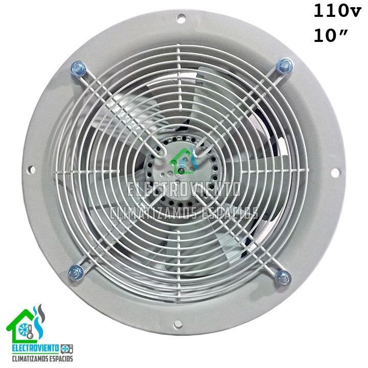 Extractor de aire 10 pulgadas industrial axial rext10 - Extractores de aire ...