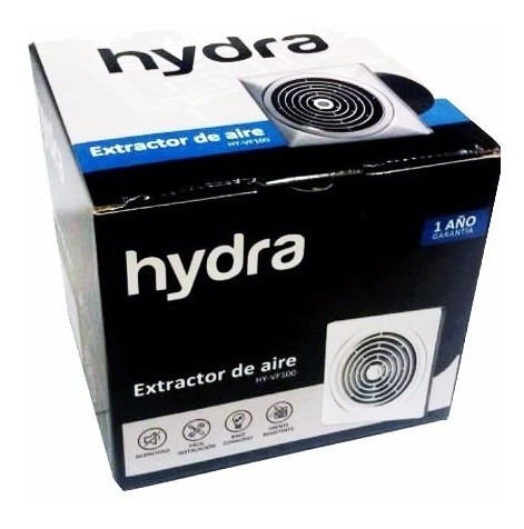 extractor de aire 150mm hydra cocina baño silencioso envios