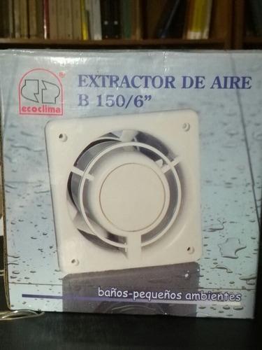 extractor de aire b 150/ 6
