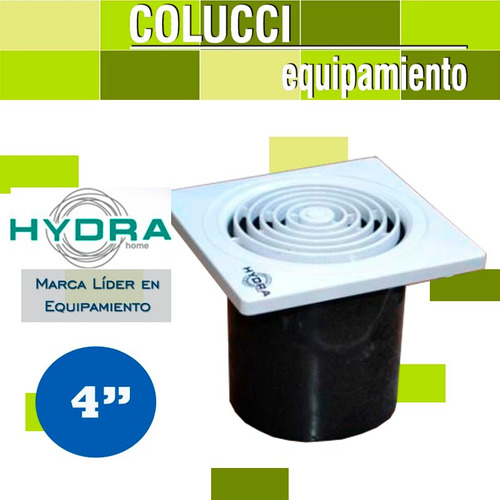 extractor de aire baño cocina hydra 4  | 10cm pared o vidrio