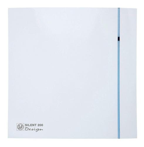 extractor de aire baño soler & palau silent 200cz design 3c