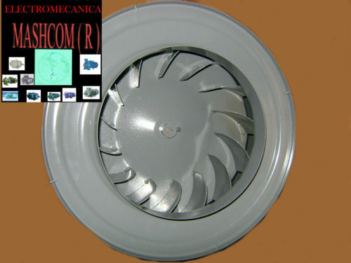 extractor de aire de 10 pulgadas centrifugo motor 1/2 hp