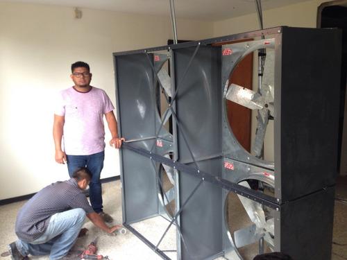 extractor de aire industrial, extractor ventilador