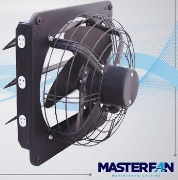 extractor de aire industrial masterfan triton 12   negro