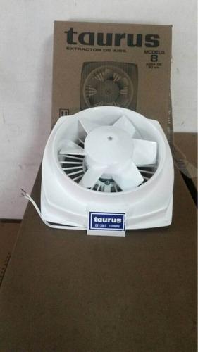 extractor de aire marca tauros 8 pulgadas