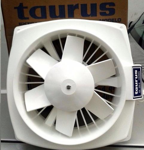 extractor de aire marca taurus 8 pulgadas mod 200-s