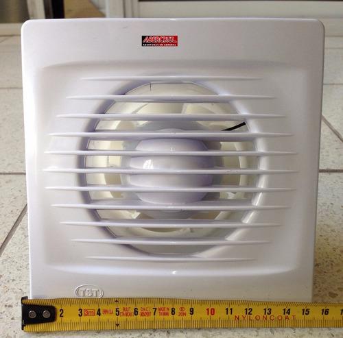 extractor de aire para baño 4¨  15cm de frente cp4 stock