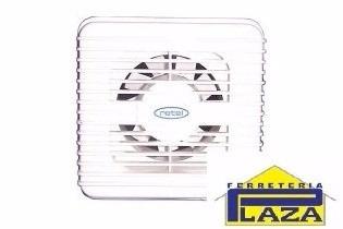 extractor de aire para baño 4 pulgadas rotel