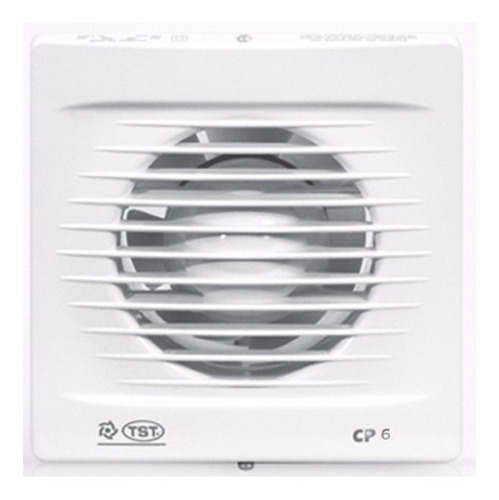 extractor de aire para baño tst 6 pulgadas modelo cp6 cta