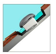 extractor de aire para ventana ó pared 29 cms. - italiano