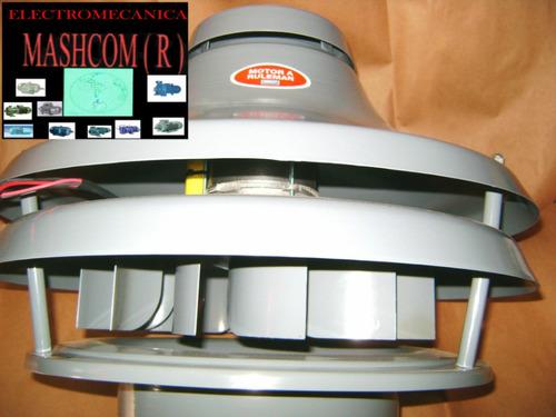 extractor de aire  parrillero hongo de 10  centrifugo 1/2 hp
