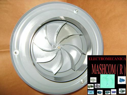 extractor de aire parrillero hongo de 8 pulgadas centrifugo