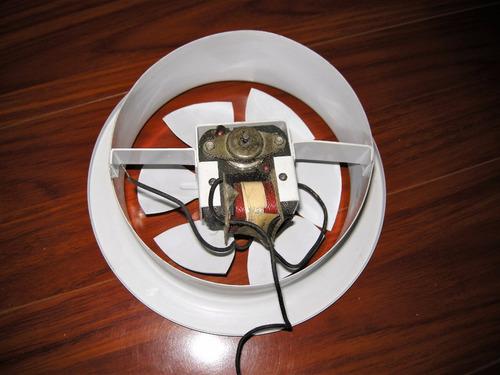 extractor de aire semi industrial metalico de 7 1/2 pulgadas