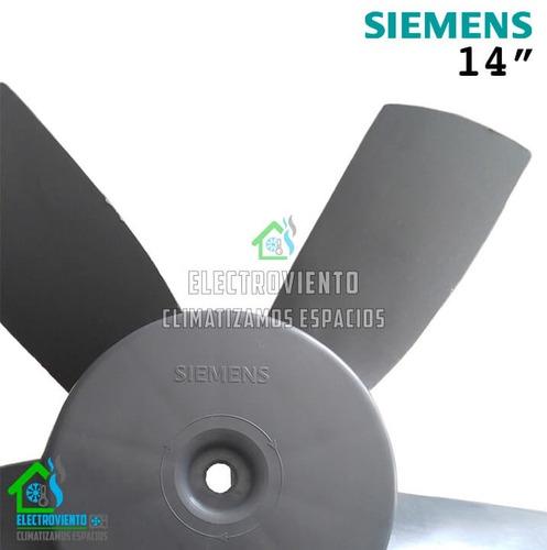 extractor de aire siemens 16 pulgadas aspa original as-400mm