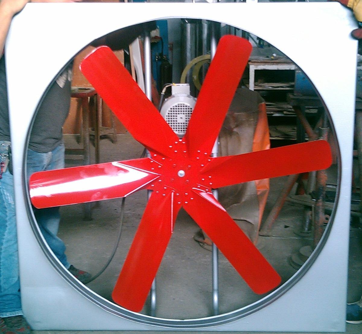 Extractor de aire ventilador helice 6 aspas industrial 1hp for Aspas para ventiladores