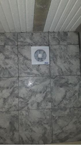 extractor de baño 10 cm atenas con persiana móvil